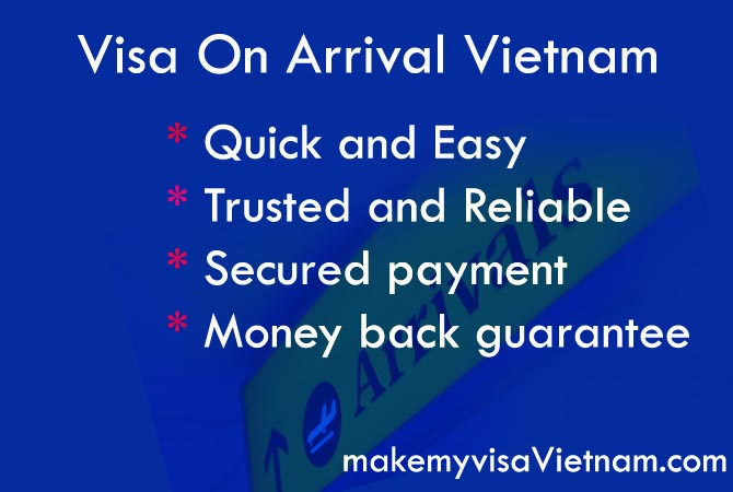 on arrival visa vietnam